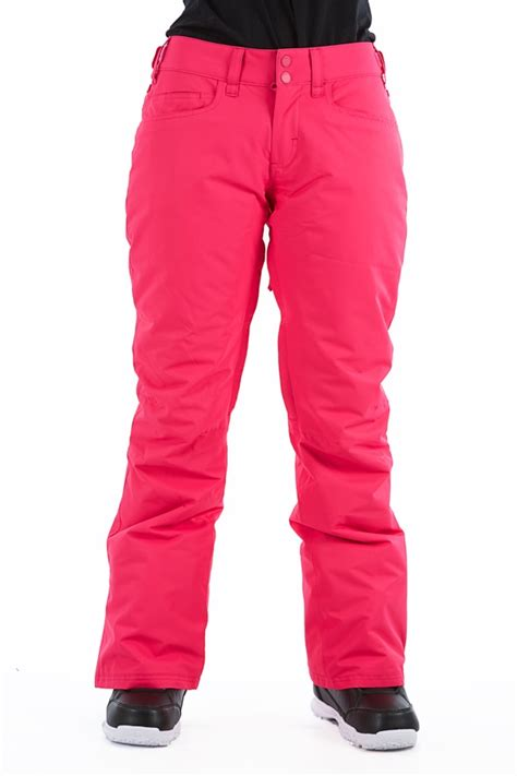 roxy womens snowboard pants size chart table fit guide