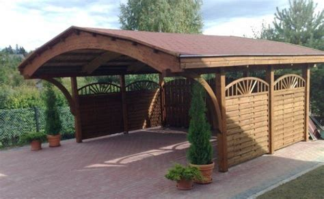 Wooden Car Ports by Wooden Carport Timber Garage Buy Modern Prefab Garage