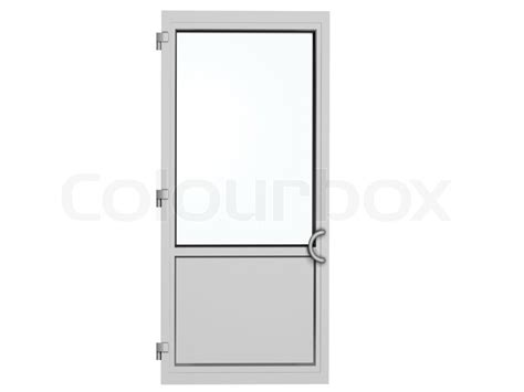 House Plans And Prices To Build One Frame Metal Plastic Door Isolated On White Stock