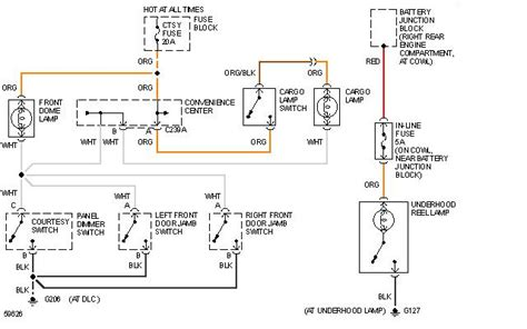 chevy silverado dome light switch chevy dome light wiring diagram chevy free engine image