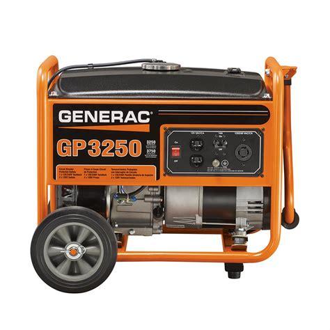 generac gp series portable generator 5982 ebay