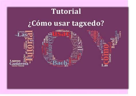 tutorial para usar videopad tutorial para usar tagxedo