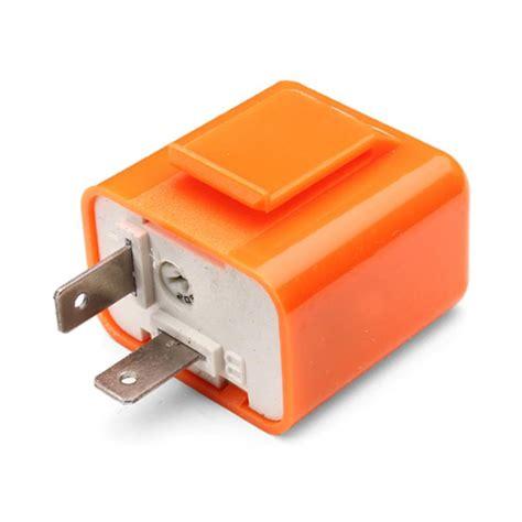 1pcs 2 pins 50c m 200c m motor led flasher relay fix 12v flash speed adjustable motorcycle turn