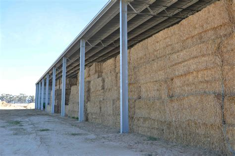 Central Vic Sheds by Large Hay Shed St Arnaud Rathscar Vic Central Steel Build