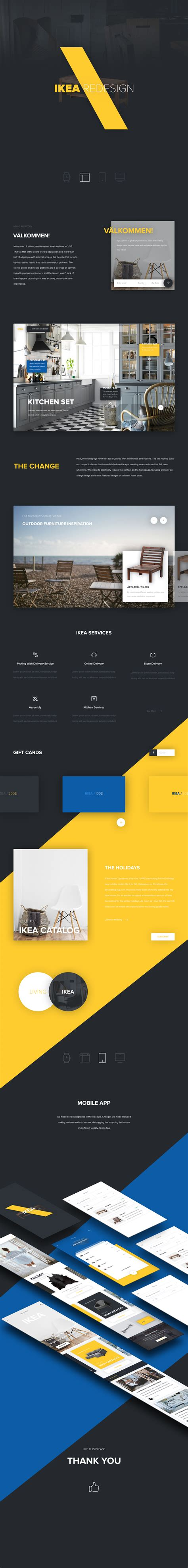 ikea app redesign concept on behance ikea redesign on behance