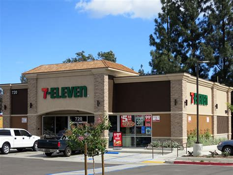 Exterior Home Design Los Angeles by 7 11 Upland Convenience Store Architecture Engineering