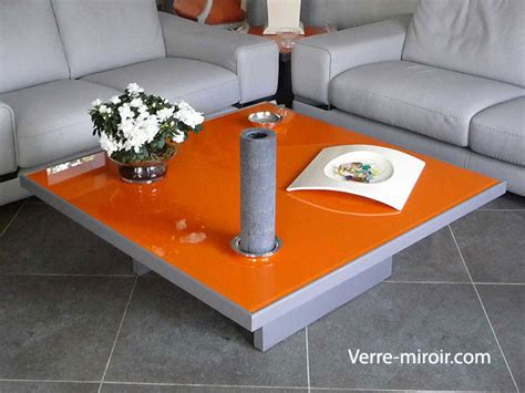 protection table bois table basse de salon verre trempe ezooq