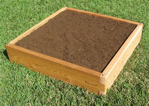 cedar raised bed 3x3 raised garden bed 3x3 cedar bed garden in minutes