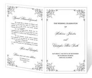 downloadable wedding program templates best photos of downloadable program templates wedding free downloadable wedding program