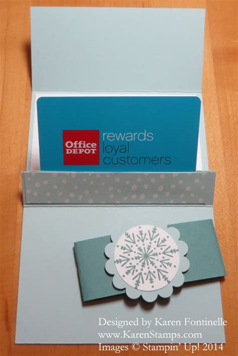 Make A Gift Card Holder - make a gift card holder sting with karen