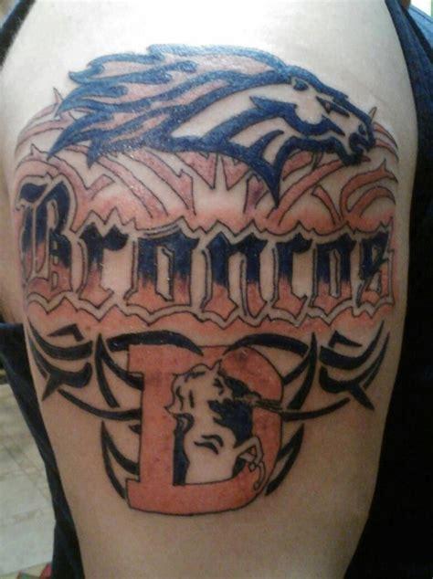 denver broncos tattoo designs  denver broncos tattoos  designs collections