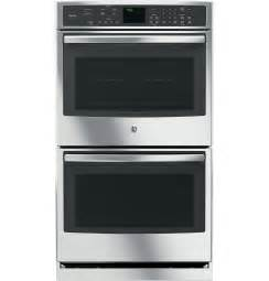 ge profile series 30 quot built in double wall oven with