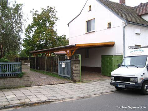 Carport An Hauswand