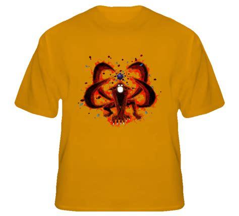 T Shirt Kurama kurama four tails bijuu shippuden anime t shirt