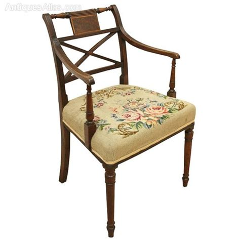 regency mahogany armchair antiques atlas