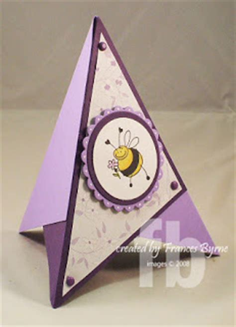 how to make a card pyramid stowl s studio a pyramid card