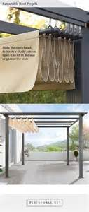 Diy Pergola Roof by 1000 Ideas About Outdoor Tables On Pinterest Diy