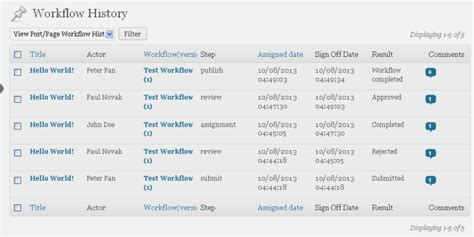 workflow history list process history lets users retrace their steps oasis