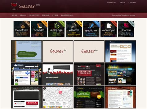 wordpress themes for gallery sites wordpress gallery themes 10 best premium gallery themes