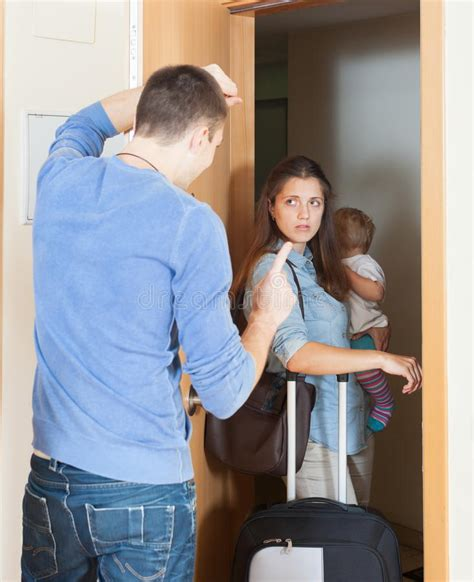 section 20 children s act 1989 angry woman leaving from home stock image image of