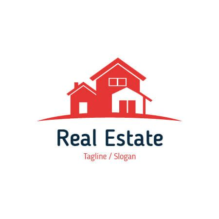 real estate logo logo design and real estates on pinterest free vector real estate logo template for your company