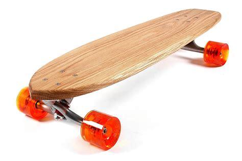 Handmade Longboard - personalised handmade oak 70 s skateboard by nudie boards