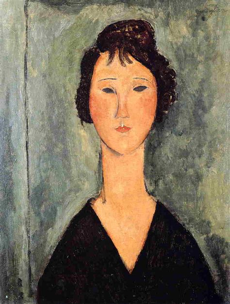 modigliani woman with a portrait of a woman amedeo modigliani wikiart org