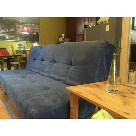 balkarp sofa bed blue ikea balkarp sofa bed in blue aptdeco