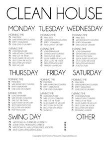 How To Keep A Clean House Schedule all keep things tidy on a schedule share your tips in the comments