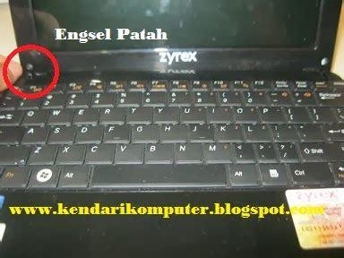Keyboard Zyrex H24z L cara service engsel netbook yang patah kendari komputer
