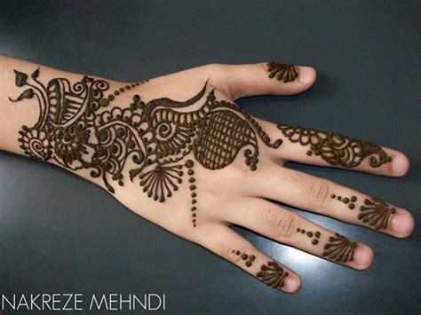simple mehendi designs photos for beginners