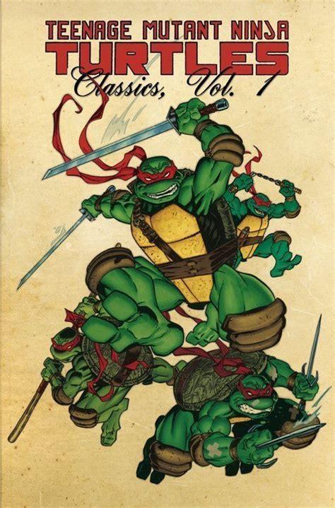 Mutant Turtles Classics Volume 8 mutant turtles classics vol 1 tp idw publishing