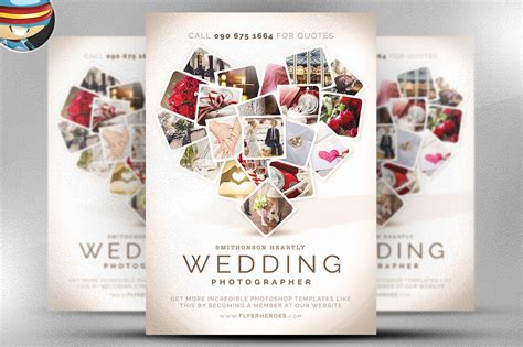 Wedding Planner Flyer by Wedding Photographer Flyer Template Flyer Templates On