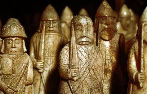 The Lewis Chessmen the enduring mystery of the lewis chessmen history in the headlines