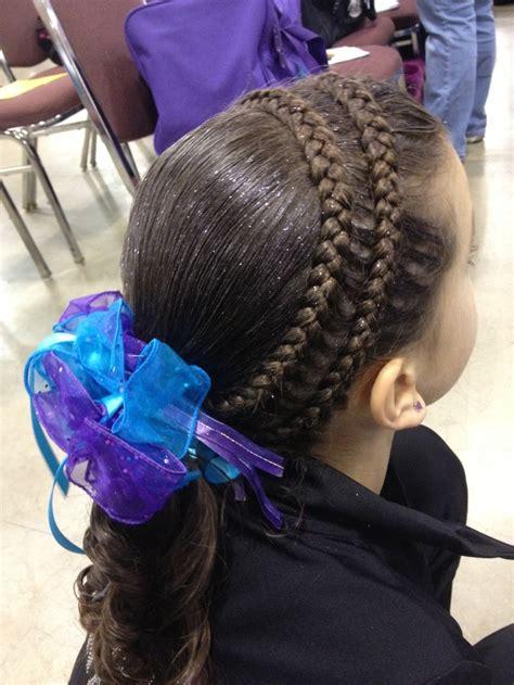 gymnastics hair ideas long hair backward roll 79 best images about gymnastics meet hairstyles on