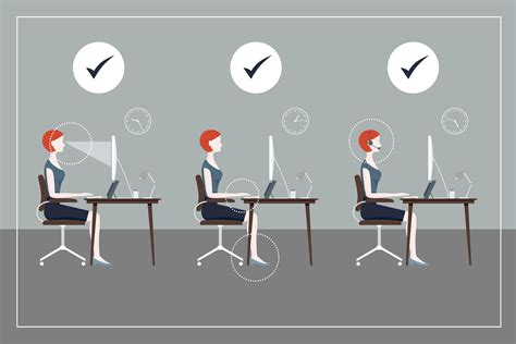 how to keep posture at a desk healthy desk posture how to guide sydney corporate