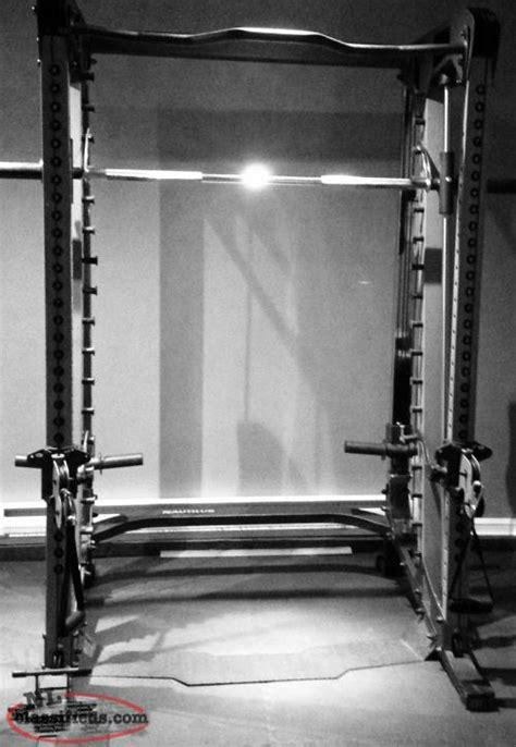 nautilus nt cc1 smith machine and bench paradise