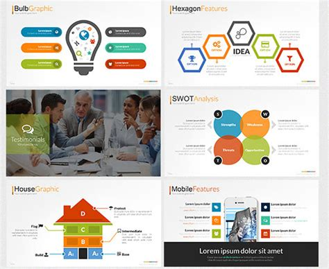 powerpoint template ideas 18 cool flat powerpoint templates desiznworld