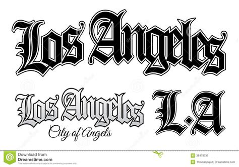 los angeles royalty free stock photography image 38478737