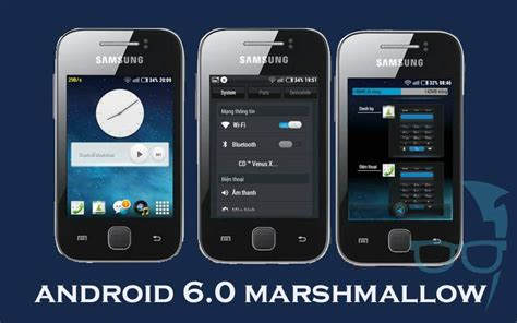 Handphone Samsung Galaxy Gt S5360 install android 6 0 marshmallow update on samsung galaxy y