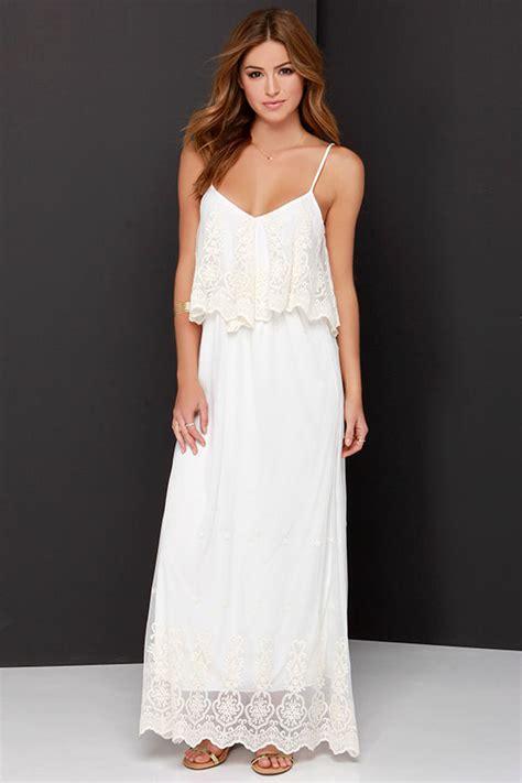 Neil High Neck Restock Best Seller lace maxi dress and ivory dress white dress 58 00