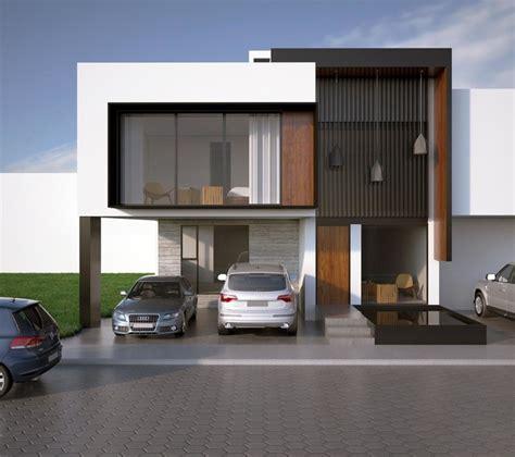 Livingroom Diningroom Combo facade render modern exterior by bageti proyectos