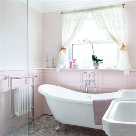 shabby chic bathroom designs and inspiration housetohome shabby chic slipper bath with double sink shabby chic