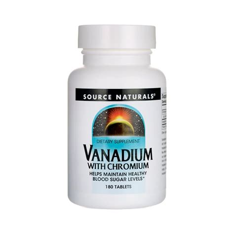 chromium vanadium vanadium with chromium 180 tabs