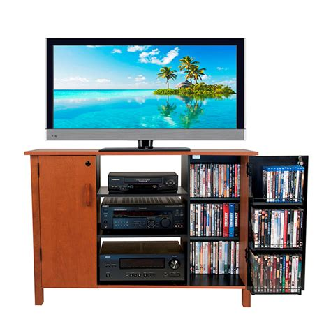 Tv Storage Cabinet by Venture Horizon 42 Tv Stand And Locking Media Storage