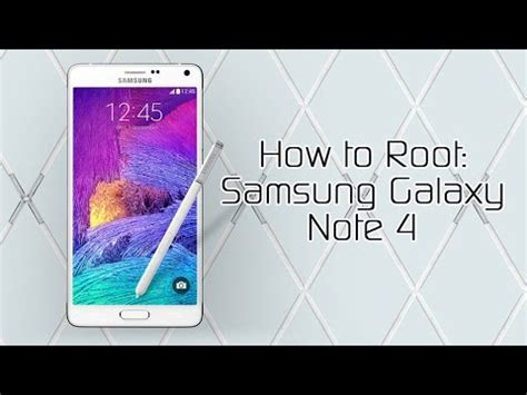 how to root the samsung galaxy note 4 international how to root the samsung galaxy note 4 and install twrp