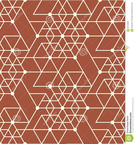 geometric background circles seamless pattern vector stock geometric seamless pattern background with line hexagon