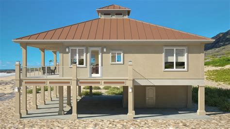 beach house plans on piers clearview 1600lr 1600 sq ft on piers beach house plans