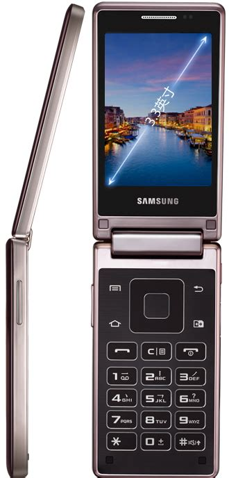 samsung hennessy android flip phone heads back to the future slashgear