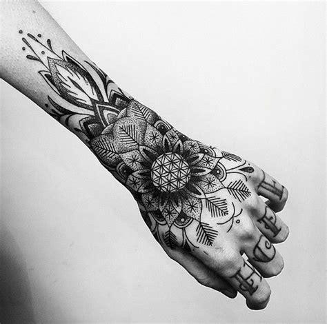mandala hand tattoo 50 mandala design ideas nenuno creative
